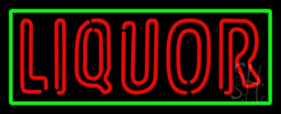 Liquors Neon Sign