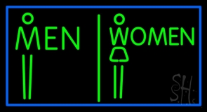 Men And Women Restroom LED Neon Sign