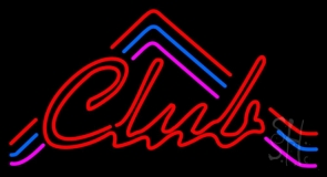 Red Club Neon Sign