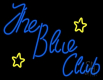 The Blue Club Neon Sign