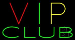 VIP Club LED Neon Sign