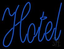 Cursive Hotel Neon Sign
