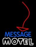 Custom Motel With Arrow Neon Sign
