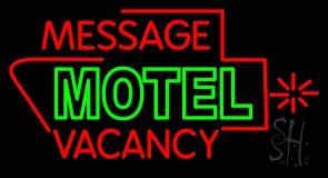 Custom Motel Vacancy LED Neon Sign