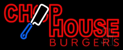 Chophouse Burgers Neon Sign