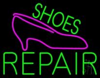 Green Shoes Repair Pink Sandal Neon Sign