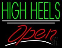 High Heels Open Neon Sign