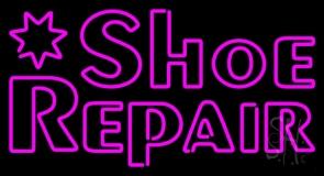 Pink Shoe Repair Neon Sign