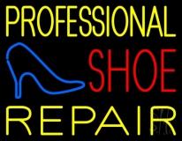 Professional Shoe Repair Neon Sign