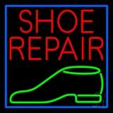 Red Shoe Repair Green Shoe Neon Sign