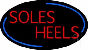 Red Soles Heels Neon Sign