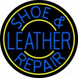 Shoe and Leather Repair Neon Sign