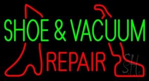Shoe and Vacuum Repair Neon Sign