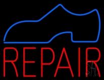 Shoe Logo Repair Neon Sign