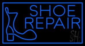 Shoe Repair Logo Neon Sign