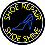 Shoe Repair Shoe Shine Neon Sign