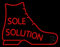 Sole Solution Neon Sign