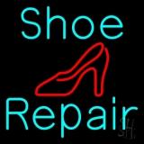 Turquoise Shoe Repair Sandal Neon Sign