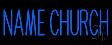 Custom Church Neon Sign