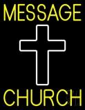 Custom Church With Logo Neon Sign