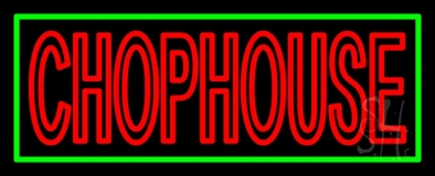 Red Chophouse Neon Sign