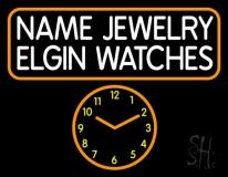 Custom Jewelry Watches Neon Sign