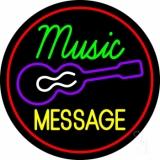 Custom Music Guitar Neon Sign
