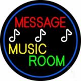 Custom Yellow Music Green Room Neon Sign