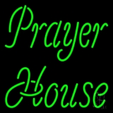 Green Prayer House Neon Sign