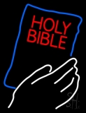 Holy Bible LED Neon Sign