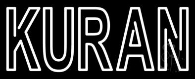 Kuran Neon Sign