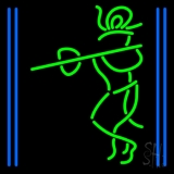 Lord Krishna With Line LED Neon Sign