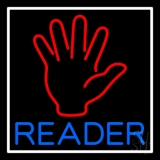 Palm Reader Neon Sign