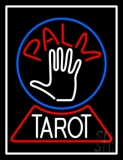 Palm Tarot Crystal Neon Sign