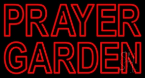 Prayer Garden Neon Sign