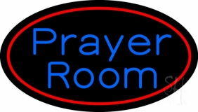 Prayer Room With Border Neon Sign