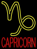 Red Capricorn Neon Sign