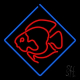 Fish Logo Neon Sign