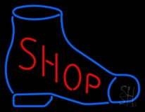 Shoe Shop Neon Sign