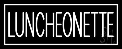 Luncheonette Double Stroke Neon Sign