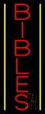 Vertical Bibles LED Neon Sign