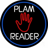 White Palm Reader Neon Sign