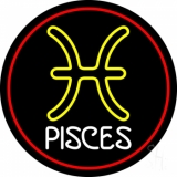 White Pisces LED Neon Sign