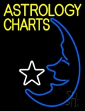 Yellow Astrology Charts LED Neon Sign