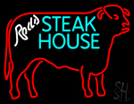 Steakhouse Logo Neon Sign