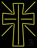 Christian Cross Neon Sign