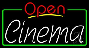 Cinema Open LED Neon Sign