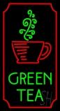 Vertical Green Tea Neon Sign