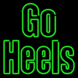 Green Go Heels Neon Sign
