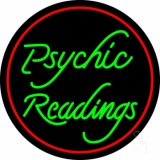 Green Psychic Readings Neon Sign